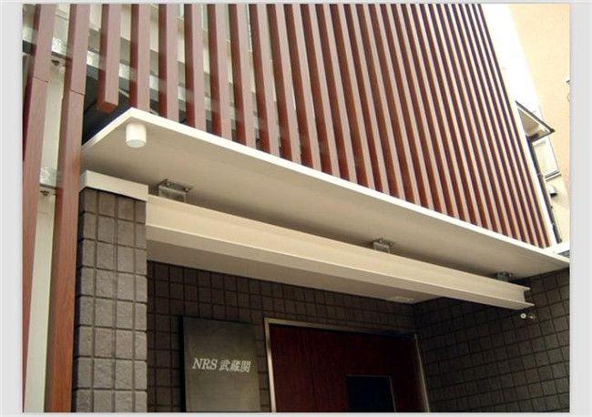 【别墅外墙装修】 别墅外墙横条板装饰材料大全